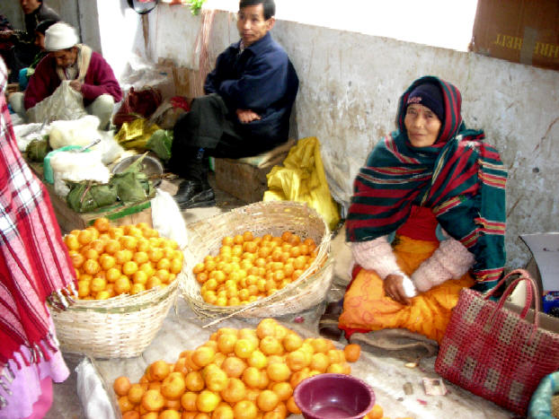 Image result for images of an old woman selling oranges in a bazaar